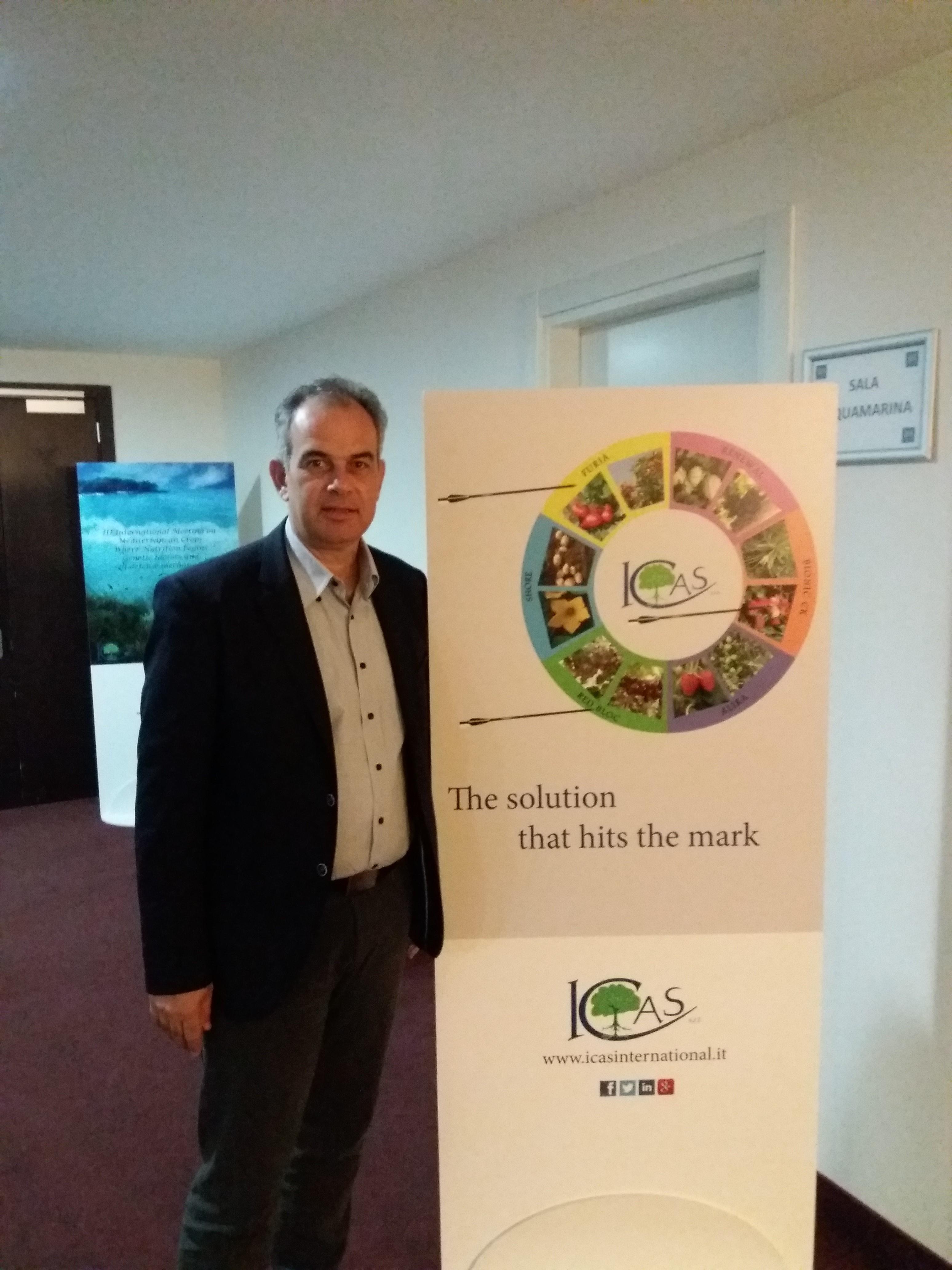 Ομιλία του καθηγητή Τεχνολογίας του ΗΕΑ στο 3ο Μεσογειακό Συνέδριο Αμπελουργίας στη Ρώμη